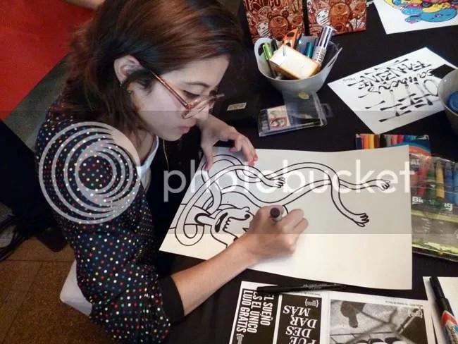 Milena Ilustrando