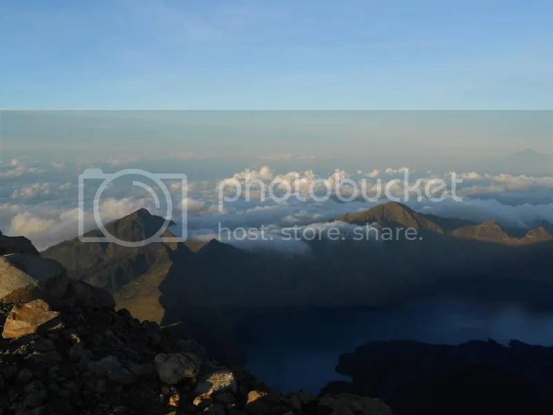 Segara Anakan from the Peak of Mt. Rinjani