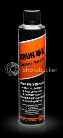 Con qué limpiar el arma: Brunox