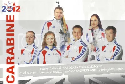 Equipo Olímpico francés: Londres 2012