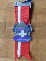 Medalla Campeonato Tiro Olímpico Aargau por equipos