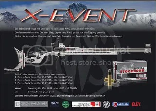 Evento Grünig Elmiger Racer RWC y X-Racer