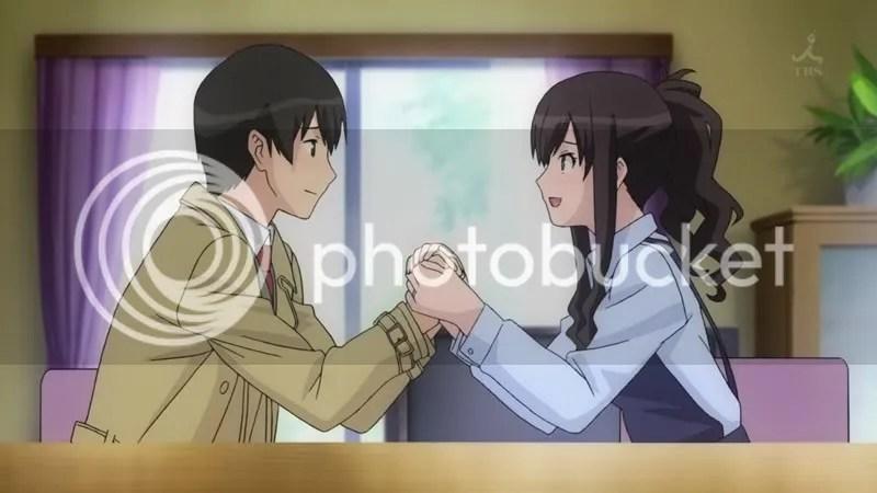 Amagami SS Episode 4 Ending for Haruka Morishima Anime