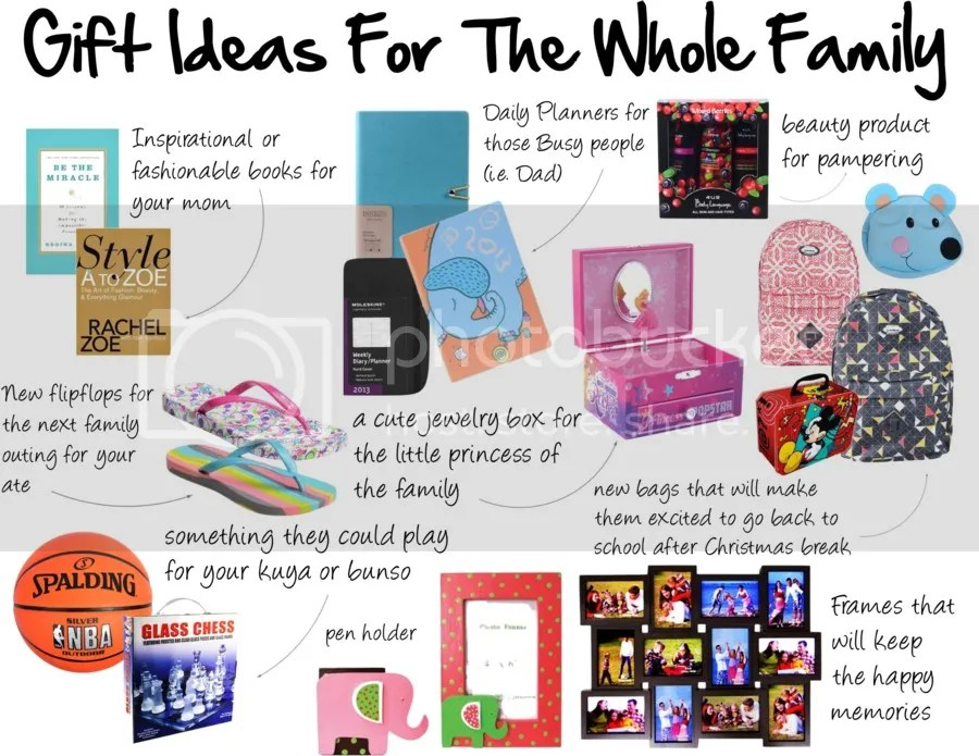 Christmas Gift Ideas below 1000PHP | Whole Family