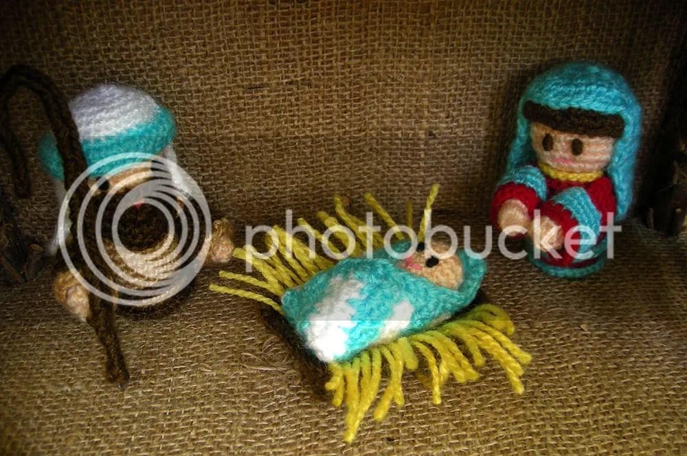 Amigurumi Nativity - Jesus, Mary & Joseph