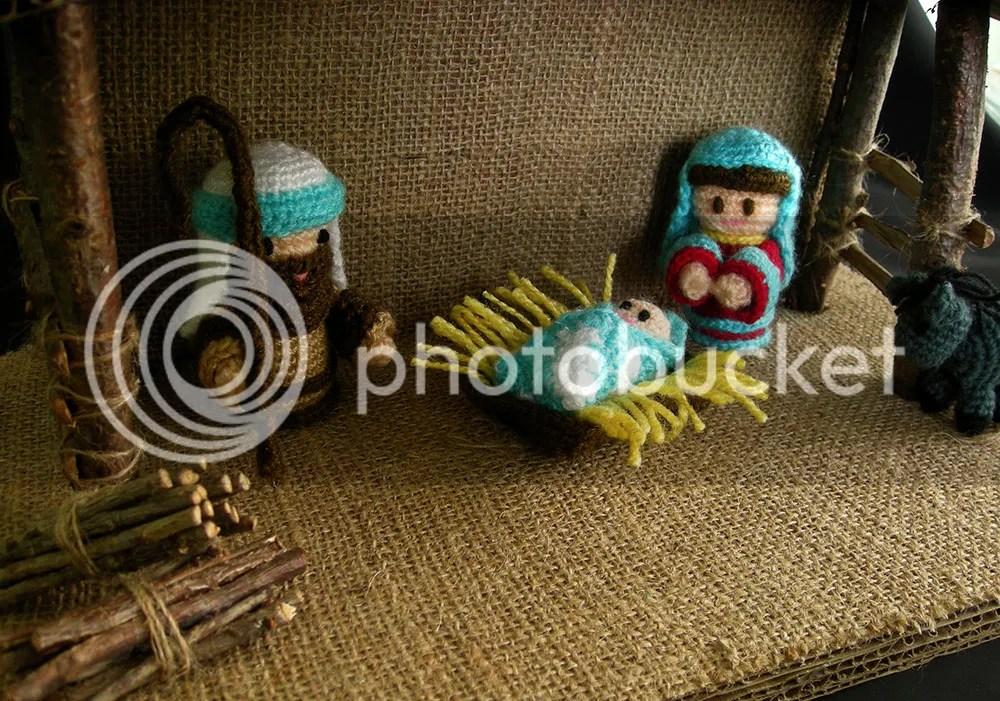 Amigurumi Nativity - Baby Jesus, Mary & Joseph
