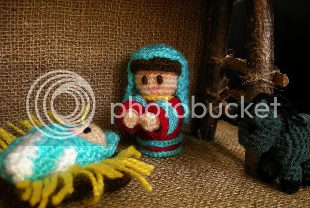 Amigurumi Nativity - Mary