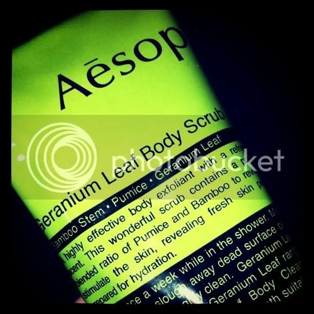 Aesop Geranium Body Scrib