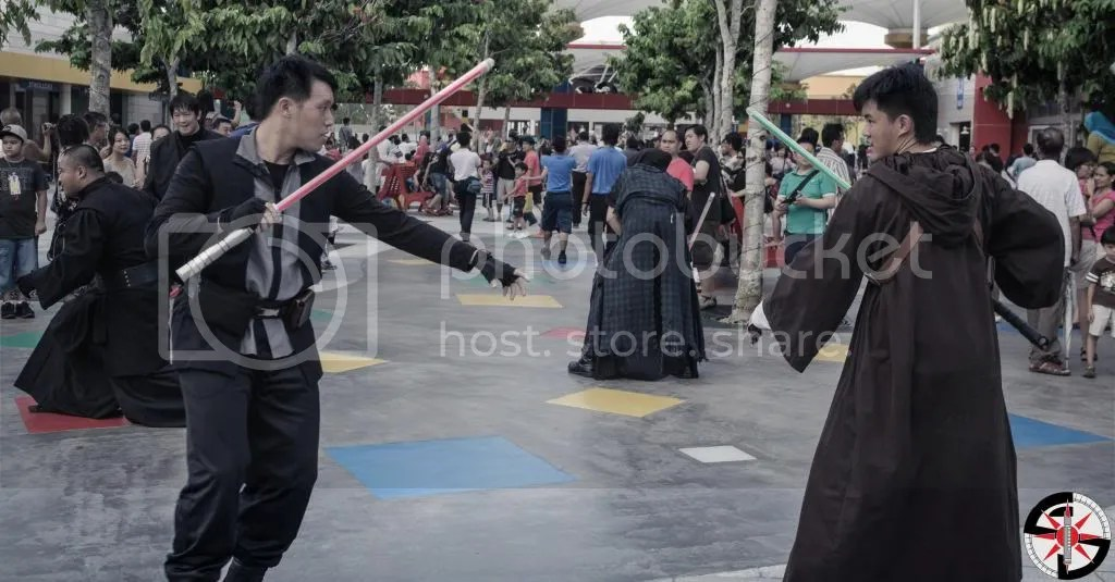 Dorakon Sol'Aria & Kaz'Thul battling it out