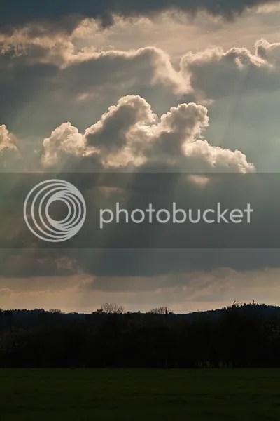 Wolken Zon