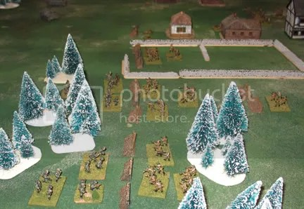 Pioneers close on the Soviet line and prepare to assault