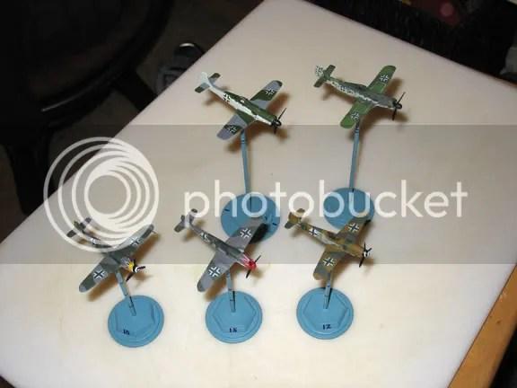 Japanese gasaphon collectible aircraft kits ready for combat