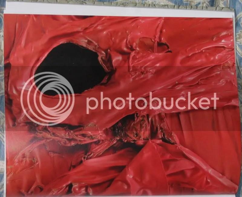 Melted Plastic Art by Alberto Burri