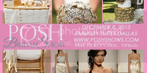 Join us December 8th at the Posh Bridal Show