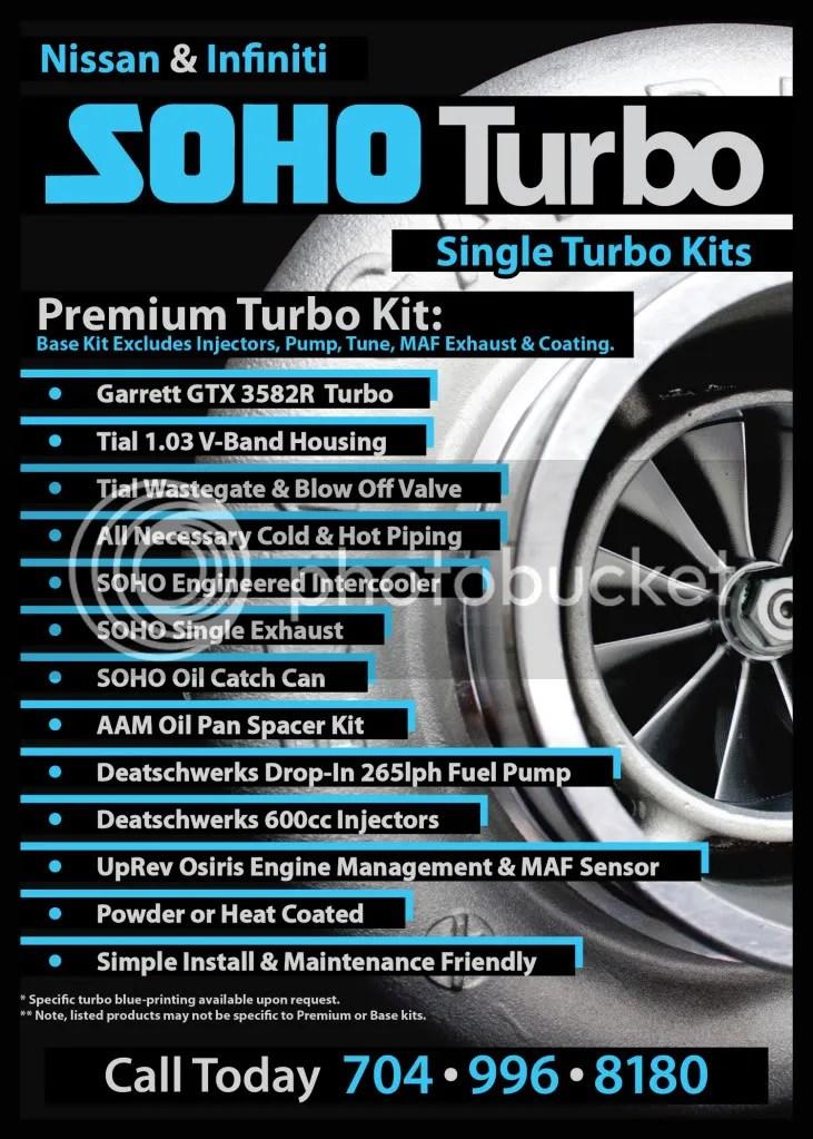 VQ35 Turbo Kits   SOHO Motorsports