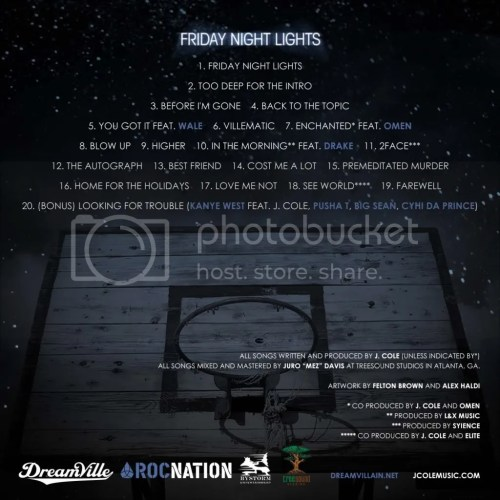 Friday Night Lights Back Cover