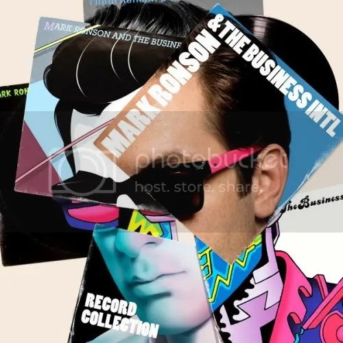 Mark Ronson & The Business Intl. - Record Colection (Album Review Cover Art)