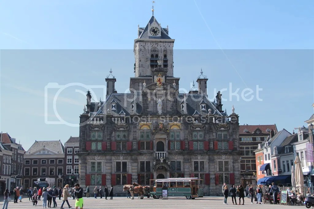 reisjaar 2018 - Markt Delft Nederland