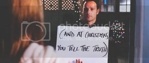 (and at christmas you tell the truth)