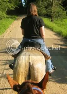 Riding Barney, July 3, 2011