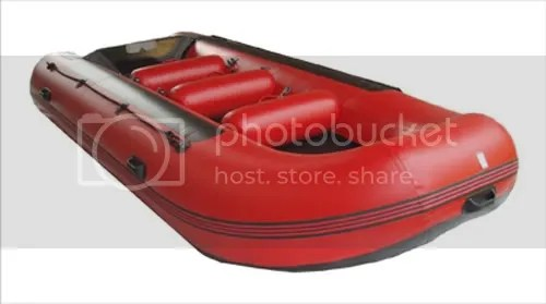 Perahu Karet Transom LCR SiBelo