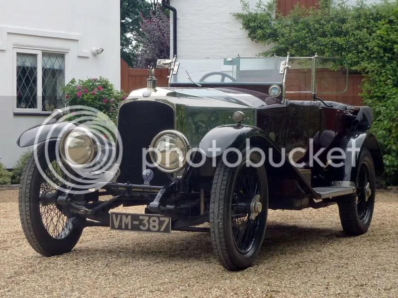 1920 Vauxhall 30/98 E-Type Tourer