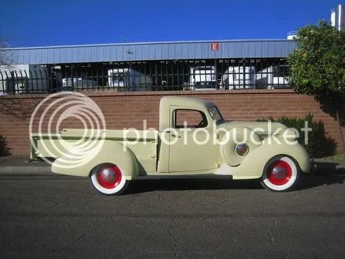 1937 Hudson Terraplane Pickup