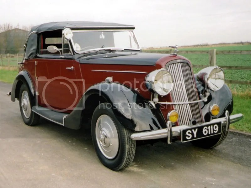 1937 Humber 12 Foursome Drophead Coupe