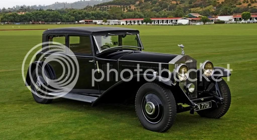 1931 Rolls-Royce Phantom II Continental Touring Saloon