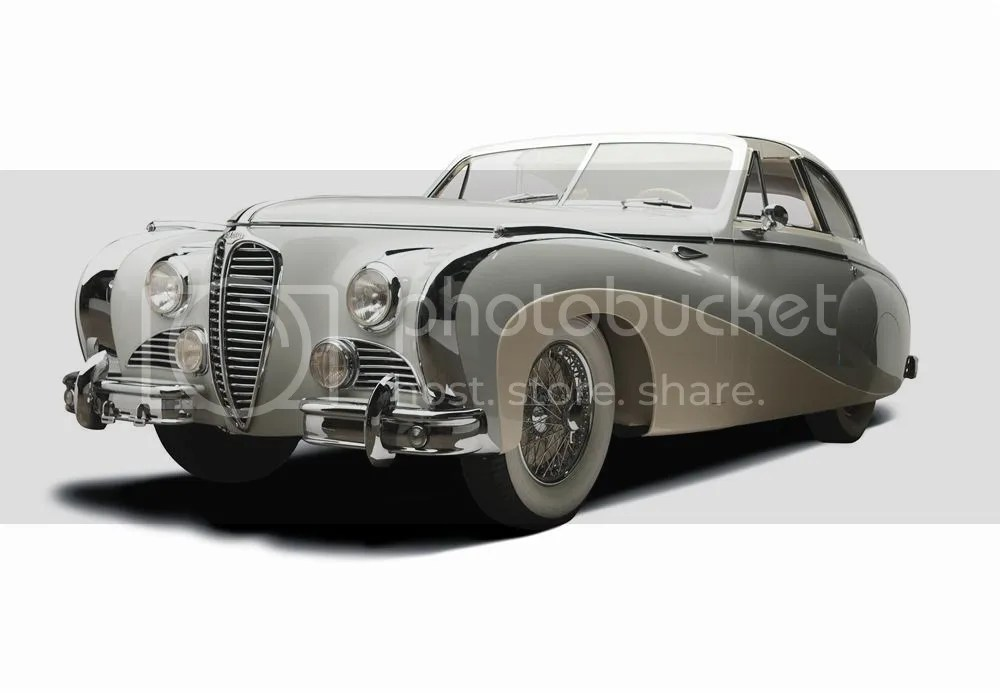 1949 Delahaye Type 175 Saoutchik Coupe de Ville