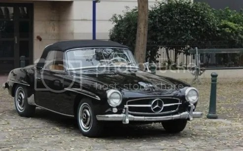1957 Mercedes-Benz 190SL Roadster