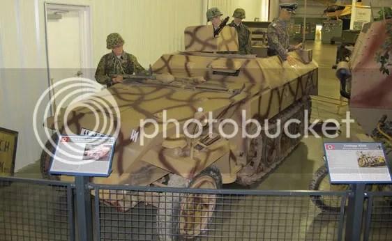 1944 Demag IE SPW SDKFZ 250/5 Neu Art