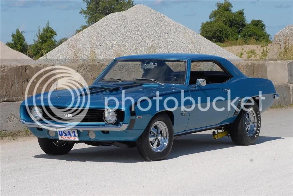 1969 Chevrolet Camaro Dick Harrell 427