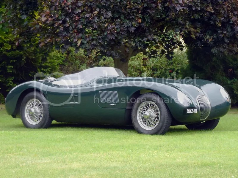 1998 Proteus Jaguar C-Type Replica
