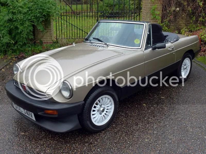 1980 MG B by Aston Martin