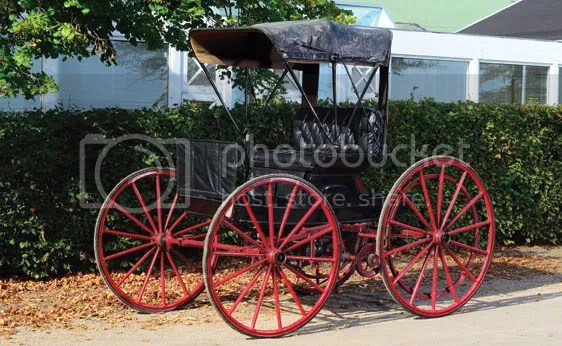 1902 Holsman High-Wheel Runabout