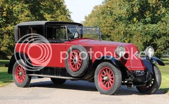 1925 Renault Type NM 40 CV Coupé de Ville by Kellner