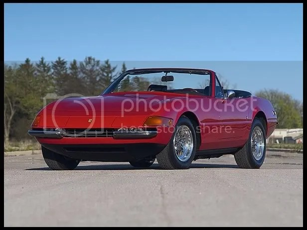 1972 Ferrari 365 GTB/4 Daytona Spyder