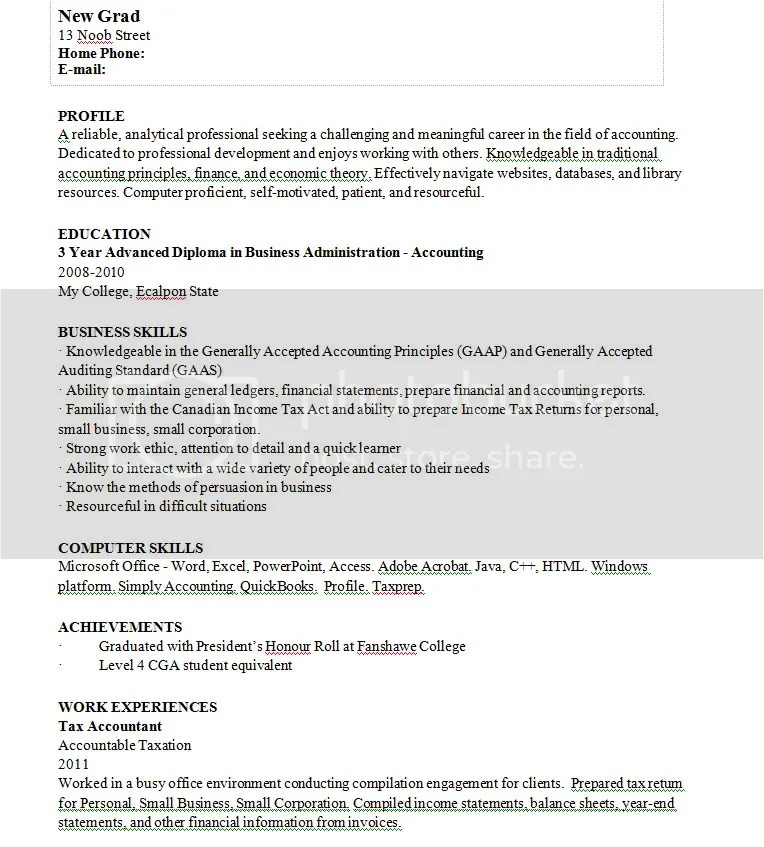 resume so - Inexperienced Resume Examples