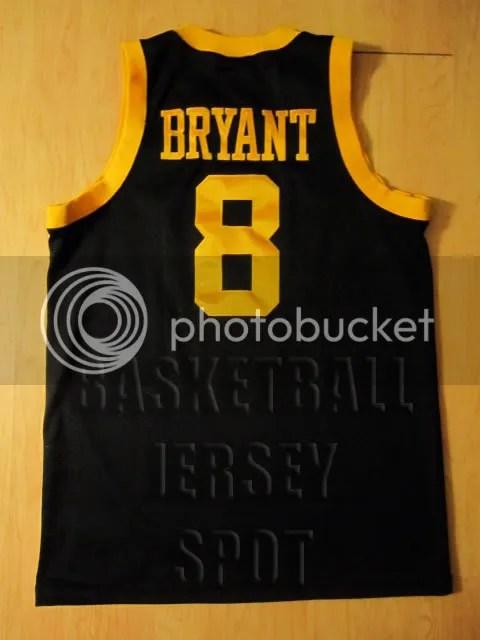 44584145e18 ... Kobe Bryant Los Angeles Lakers Nike Rewind Swingman Black Jersey