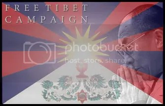 Free Tibet Campaign on MySpace