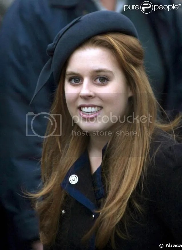 Princess Beatrice Of York on tabletop hd radio