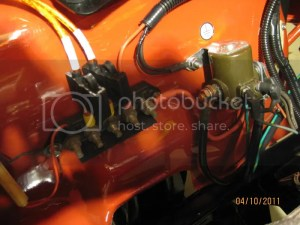Too many wires on  side of starter solenoid?  JeepForum