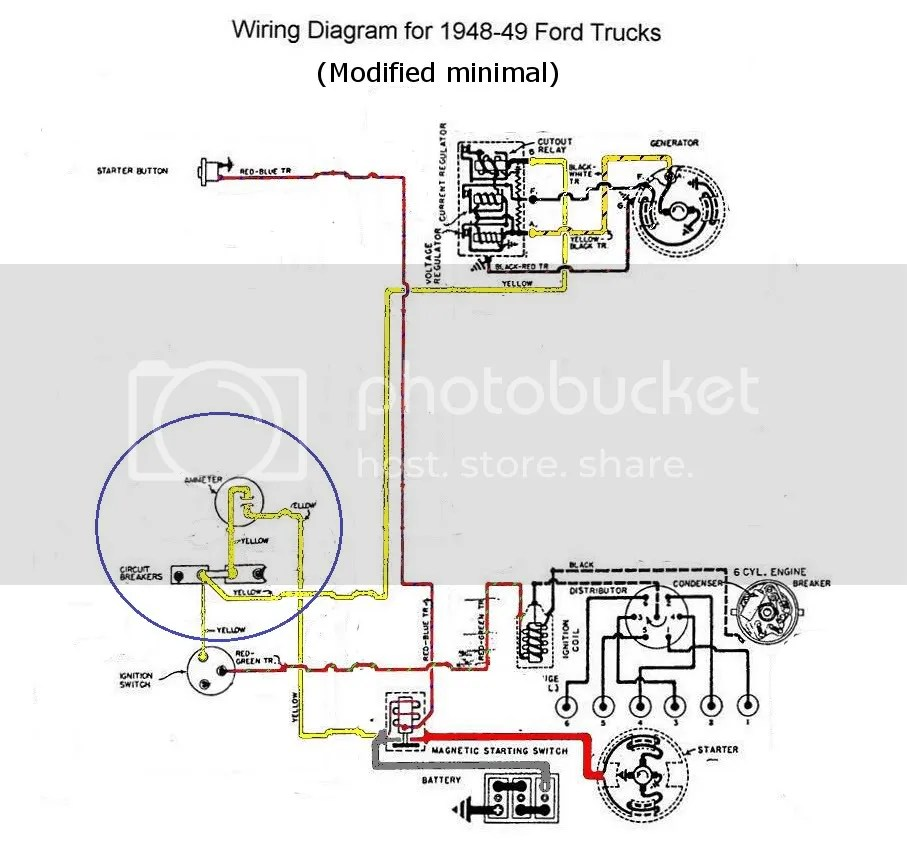 1949 Ford Diagram Tractor 8n Wiring