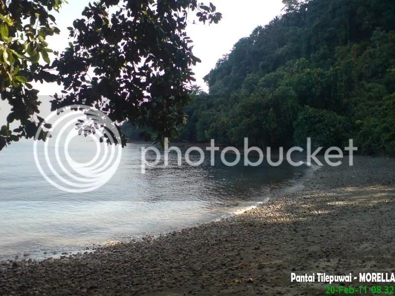 Pantai Tilepuwai Morella