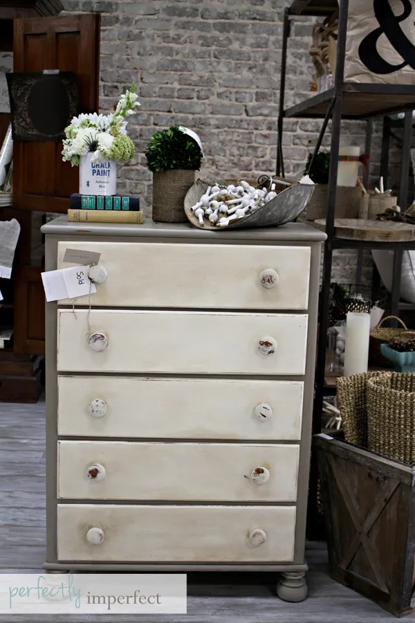 chalk paint | painted furniture | how to paint furniture | perfectly imperfect