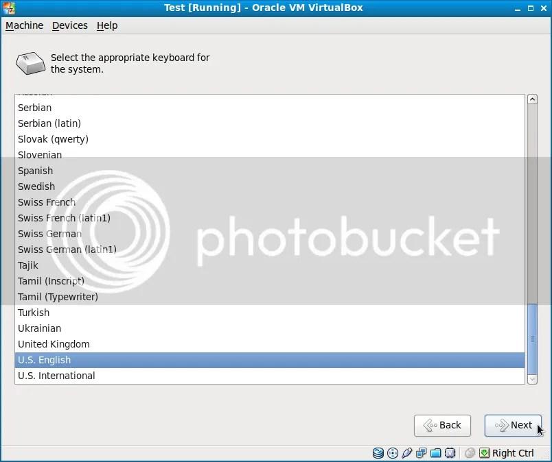 Cài đặt Fedora 13 song song với Windows7 (5/6)