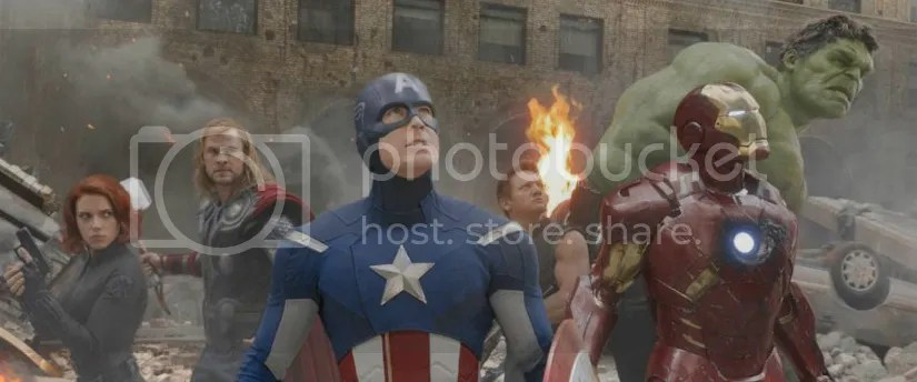 A Shot from 2012's The Avengers, from Marvel Studios.