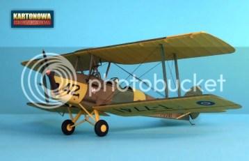 [NOWOŚĆ] DH-82A Tiger Moth - Kartonowa Kolekcja nr 18