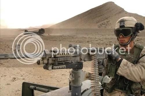 U.S. Military - Heavy arms Machine gun